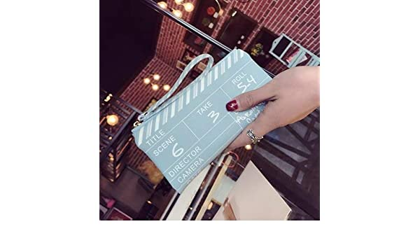 Amazon.com: AOU Mini Wallet Clutch Bags for Women 2018 Designer Film NG Board Clutches Girls Personality Purse carteras y bolsos de: Kitchen & Dining