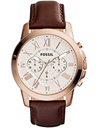 Men's FS4991 Grant Chronograph Leather Watch - Brown