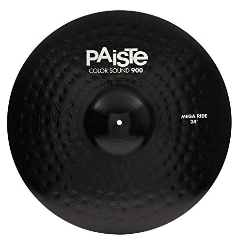 Paiste 24 Inches Color Sound 900 Black Mega Ride Cymbal by Paiste