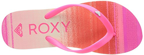 Roxy BAMBOO J SNDL KDT - Sandalias de goma para mujer White/Mandarin