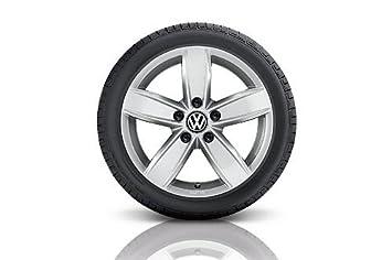 Volkswagen WKR Corvara 6,0 x 15 5/112/47 de Aluminio Rueda Completa Gar. 195/65 R15 95T XL, Continent - 5 K007325g8z8s: Amazon.es: Coche y moto