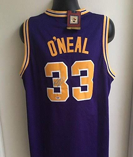 37230037d Shaquille O neal La Lakers Orlando Magic Lsu Autographed Signed ...