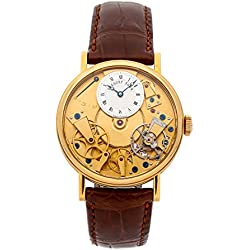 Breguet La Tradition Mechanical (Automatic) Skeletonized Dial Mens Watch 7027BA/11/9V6 (Certified Pre-Owned)