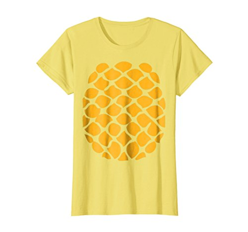 Womens Pineapple Costume T-Shirt - Easy Cheap Halloween