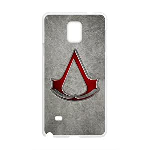 Happy Assassin's Creed Cell Phone Case for Samsung Galaxy Note4