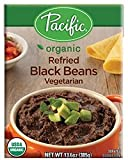 Pacific Foods, Organic Refried Pinto Beans - Vegetarian (Pack of 6)