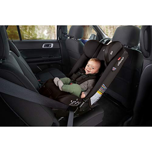 41AwIDAcg7L - Diono Radian 3RXT, 4-in-1 Convertible Extended Rear And Forward Facing Convertible Car Seat, Steel Core, 10 Years 1 Car Seat, Ultimate Safety And Protection, Slim Design - Fits 3 Across, Jet Black
