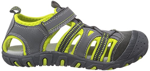 Garvalin142810 - Zapatillas Impermeables Niños Gris - Grau (C-MARENGO Y PISTACHO (TEJIDO))