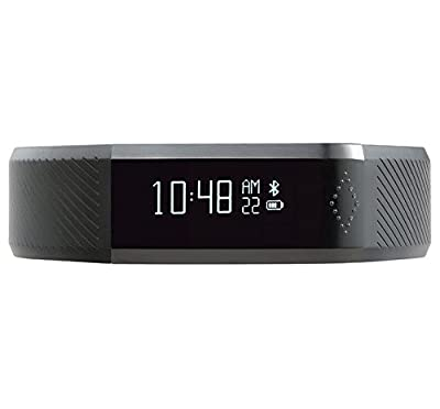 Toprime®New Touch Screen X6 Fitness Tracker and Sleeping Monitor-Track Your Steps,Calories,Distance and Remind Calling,Read Messages with this New Generation Smart Health Tracker Band,Black