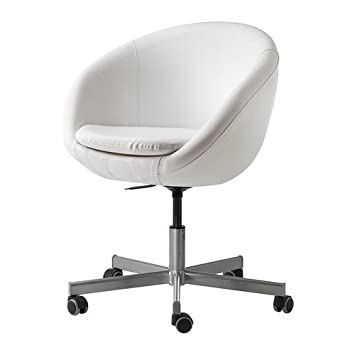 Schreibtischstuhl ikea  Ikea SKRUVSTA Drehstuhl in weiß: Amazon.de: Küche & Haushalt
