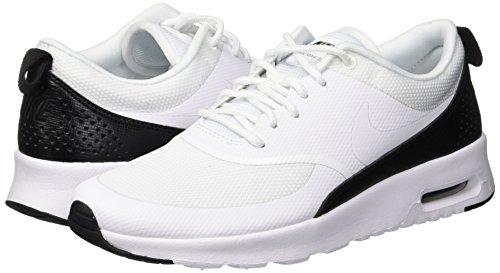 black 111 Wmns Scarpe white Nike Max Bianco Thea Donna Air Da white Fitness H6CPCqx