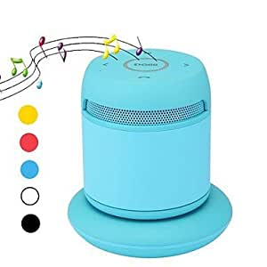 Gu ConsumerElectronics - Altavoz portátil Bluetooth compatible con iPhone, Smartphone, color azul
