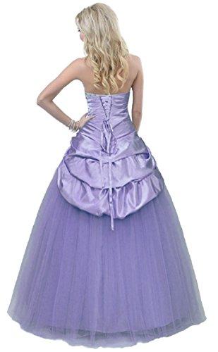 Vantexi Frauen Formale Abend Prom Kleid Perlen Ballkleid ...