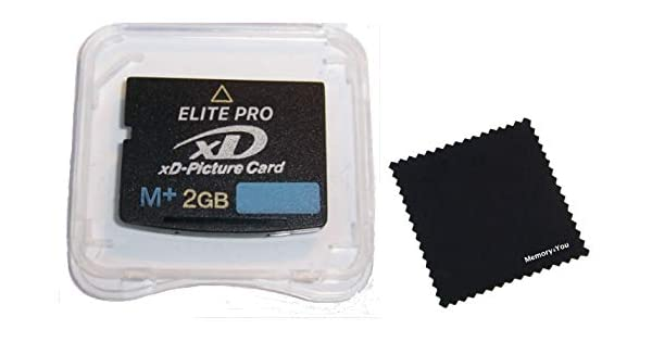 Amazon.com: 2GB XD Memory Card Type M+, 2 GB XD Picture Card ...