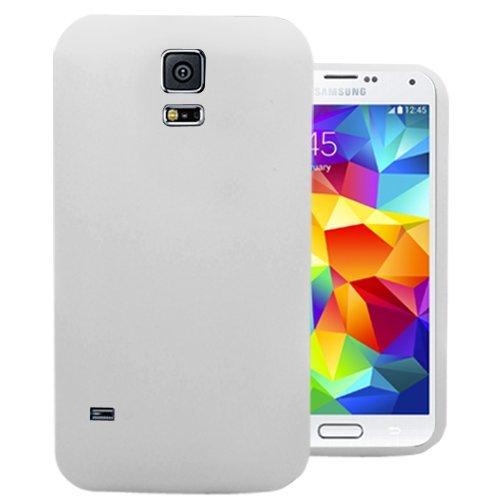 Accessory Master 5055716381467 Silikon Gel Schutzhülle für Apple iPhone 5S weiß
