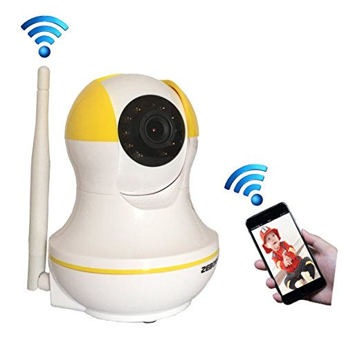 Sotion Video Baby Monitor, HD Wireless Pet Camera with Two Way Audio and Night Vision for Home/Indoor Security,...