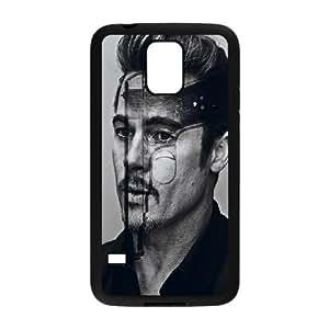 Brad Pitt Samsung Galaxy S5 Cell Phone Case Black L0564247