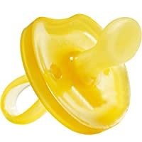 Natursutten BPA Free Natural Rubber Pacifier, Butterfly Orthodontic, 6 - 12 M...