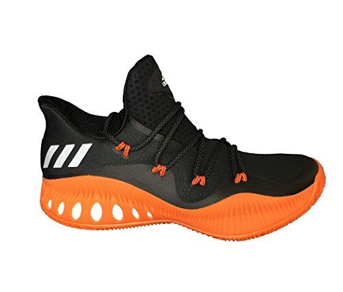Adidas Crazy Explosieve Lage Heren Basketbal Kern Zwart-wit-oranje