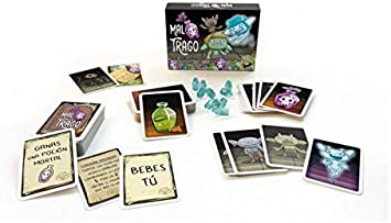 Ludokubo Mal Trago Juego de Cartas + Pack de promoción de Regalo: Amazon.es: Juguetes y juegos