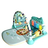 KUANDARM Baby Playmats with Pedal Piano Fitness
