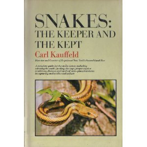 Snakes: The Keeper and the Kept by Doubleday