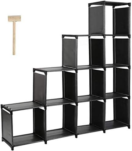 DazHom 10-Cube Storage Organizer Rack