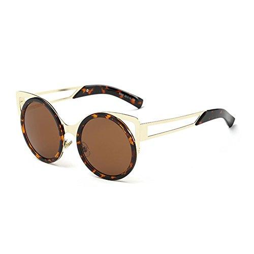 Gafas Gafas WX Personalidad 2 Arena Sol Cara Playa Moda Circular Beat Caja De Color 2 xin Grande Street Viaje De Redonda RnnFTxWwI