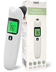 Ritalia Thermometer Forehead and Ear Infrared Digital Baby Thermometer IR. FDA/CE Approved - Clinical Accuracy Suitable for Baby, Infant, Toddler and Adults