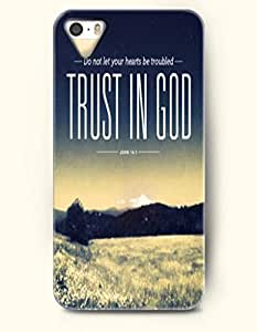 Case For Iphone 6 4.7 Inch Cover OOFIT Phone Hard Case ** NEW ** Case with Design Do Not Let Your Hearts Be Troubled Trust In God John 14:1- Bible Verses - Case For Case For Iphone 6 4.7 Inch Cover