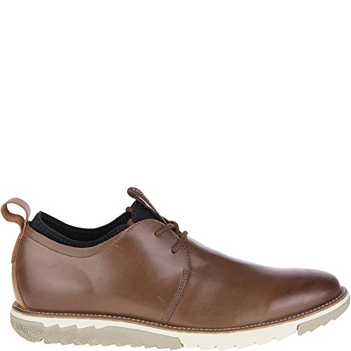 Hush Puppies Men's Performance Expert Oxford, Brown, 10 M US