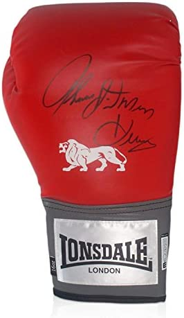 exclusivememorabilia.com Firmado guante Hitman Thomas Hearns boxeo ...