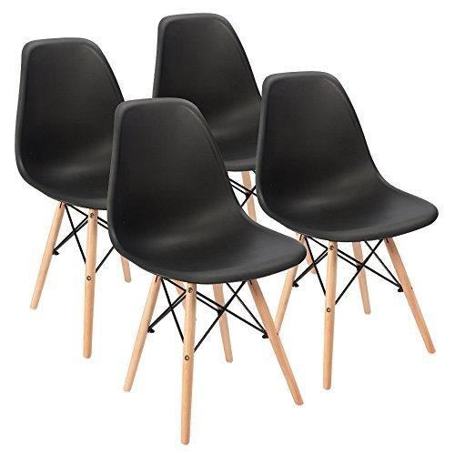 Eames Pre Assembled Mid Century Modern Dining Chair Effiel Modern DSW Chair,