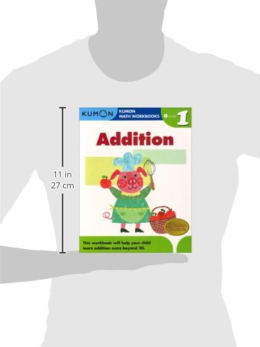 Grade 1 Addition (Kumon Math Workbooks): Kumon Publishing ...