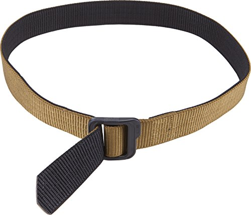 5.11 Tactical 1.5-Inch Double Duty TDU Belt (Coyote/ Black, X-Large)