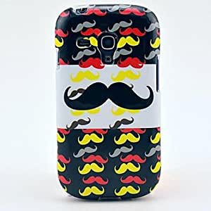LIMME- Color the Beard Pattern TPU Soft Case for Samsung Galaxy S3 Mini I8190