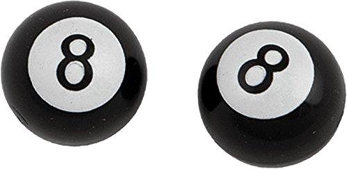 HardDrive W99-6216B(2) Valve Stem Cap 8 Ball ()
