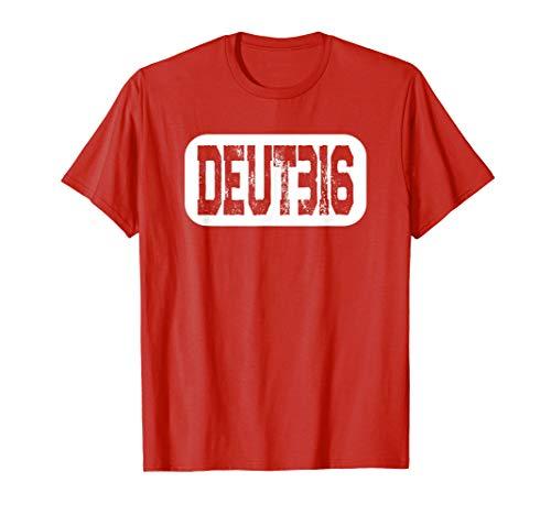 Deuteronomy 31:6 Bible Verse T-Shirt Christian Inspirational