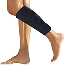 Roxofit Calf Brace - Shin Splint Compression Support for Torn Calf Muscle, Strain, Sprain, Pain Relief, Tennis Leg, Injury. Best Lower Leg Wrap/Sleeve for Men and Women