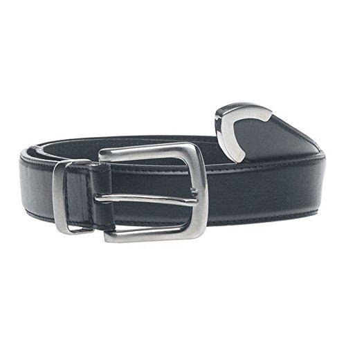 Metal Joseph (Duke Mens D555 Joseph Metal Tipped Belt (38) (Black))