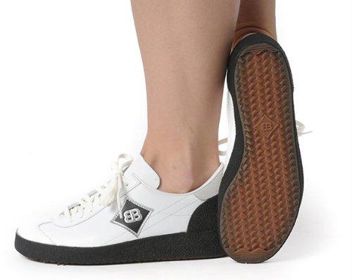 Brütting astroturfer Zapato de Senderismo Zapato de Correr Baloncesto Zapatos Bajos Blanco, 42