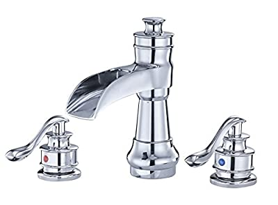 BWE Bathroom Faucet Waterfall Basin Mixer Tap Oil Rubbed Bronze
