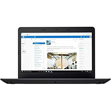 Lenovo ThinkPad E470 14 Laptop with Core i5, 8GB, 500GB, Windows 10 Pro (20H1006DUS)