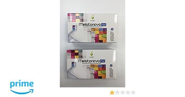 Novadiet Melatonova Flas - 2 Paquetes de 30 Tabletas: Amazon.es: Salud y cuidado personal