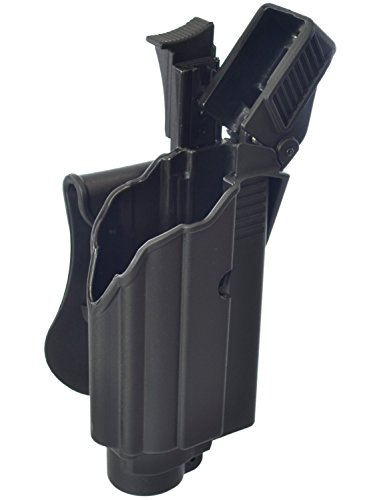 (IMI-Defense Glock Tactical Holster Polymer Roto Level-2 Retention Paddle For Glock 17/19/22/23/25/31/32)