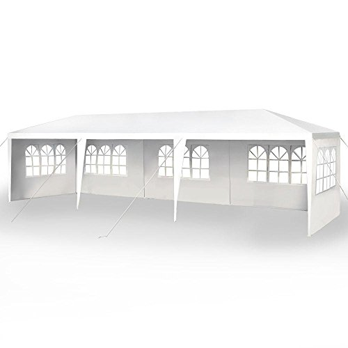 FDW 10'x30' Party Wedding Outdoor Patio Tent Canopy Heavy Duty Gazebo Pavilion -