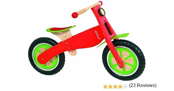 Diset Goula - Bicicleta de Madera sin Pedales 54150: Amazon.es: Juguetes y juegos