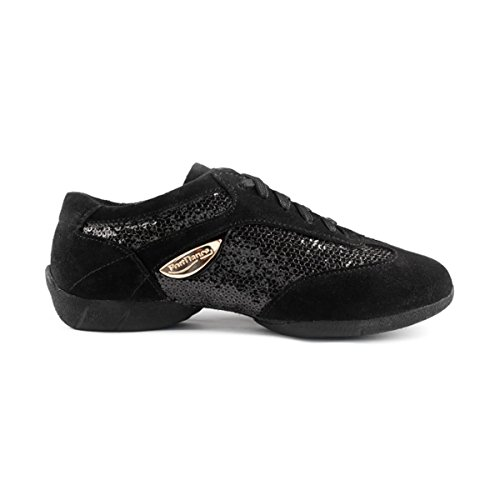 Velourleder Dance PD01 Lack Fashion PortDance Sneakers daFwx1qSII