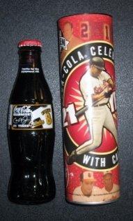 2001 CAL RIPKEN JR Farewell Season Commemorative Coke Bottle - Season Coke Bottle