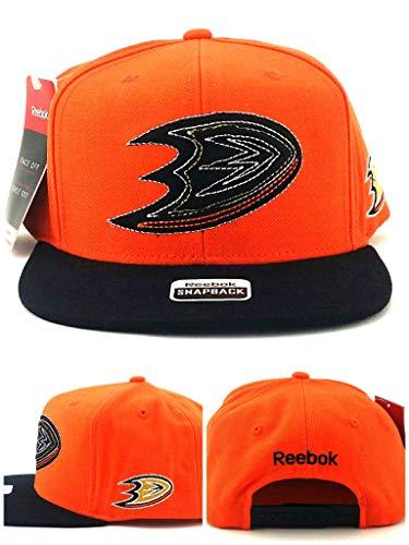 Reebok Anaheim Ducks New Shadow Mighty Orange Black Snapback Era Hat Cap ()